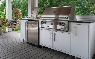 Prefab Outdoor Kitchens vs. Custom Framed Outdoor Kitchens