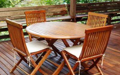 How to Clean and Maintain Teak furniture