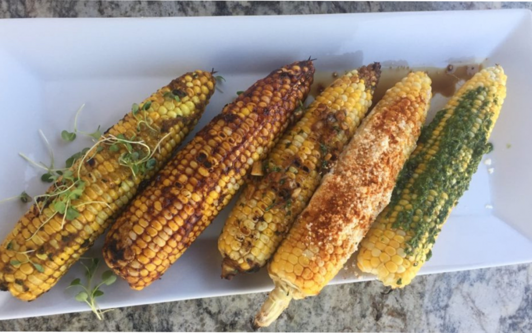 Grilled Corn 5 Ways on the Alfresco Grill