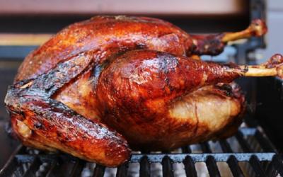 Festive Smoked Turkey