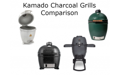 Kamado Grill Comparison – Big Green Egg, Primo, Broil King, and Blaze