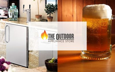 Installing a Kegerator in Your Outdoor Kitchen