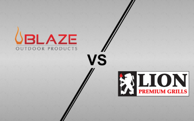 Blaze Traditional Series and Lion BBQ Gas Grill Comparison