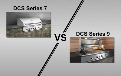 DCS Series 7 Traditional & Series 9 Evolution Gas Grills Comparison