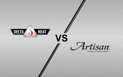 Artisan Professional Series and Delta Heat Gas Grill Comparison