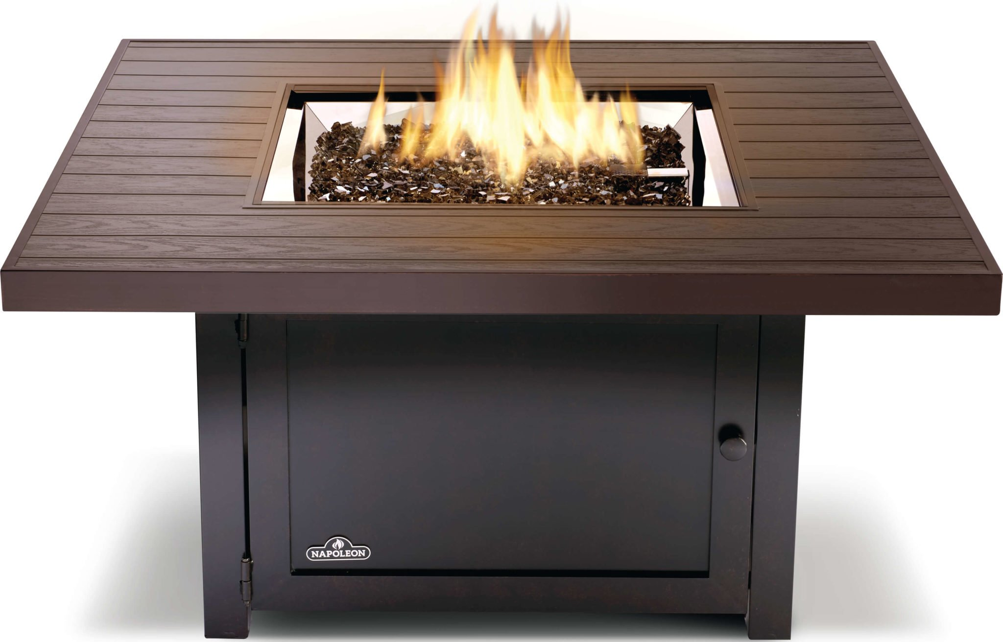 Napoleon Muskoka Square Liquid Propane Patioflame Fire Table Musk2 Bz The Outdoor Appliance Store