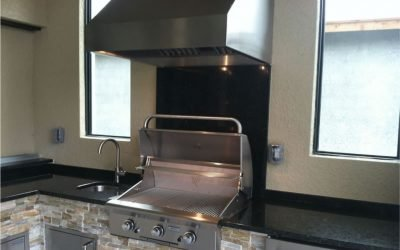 Why Add A Vent Hood To Your Outdoor Kitchen?