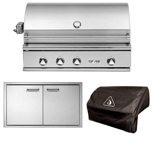 Delta Heat Simple 3-Piece 38in. Outdoor Kitchen Package