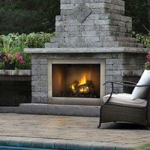 Napoleon Riverside 42 Clean Face Outdoor Fireplace - GSS42CF