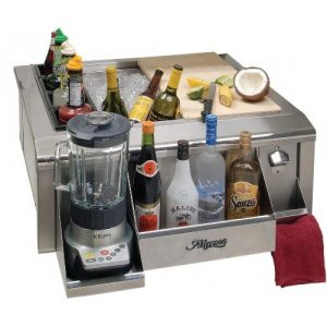 Alfresco 30-Inch Versa Apron Sink With Bartending Package