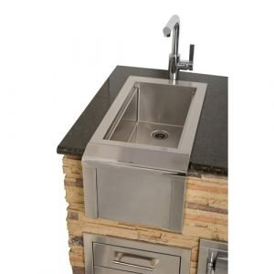 "Alfresco - 14"" Outdoor Rated Versa Bartender & Sink System - AGBC-14"
