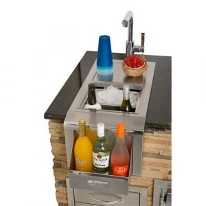 "Alfresco -14"" Built-In Bartender W/ Sink - ADT-14"