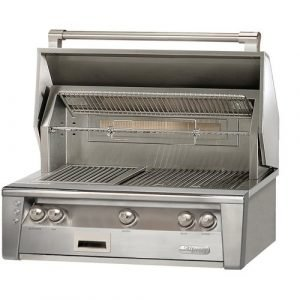 Alfresco ALXE 36-Inch Built-In Gas Grill With Rotisserie