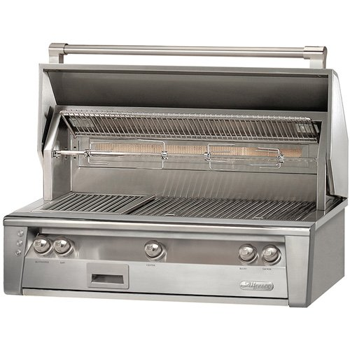 Alfresco ALXE 42-Inch Built-In Gas Grill With Rotisserie