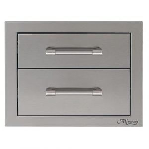 "Alfresco - 17"" Double Access Drawer - AXE-2DR"