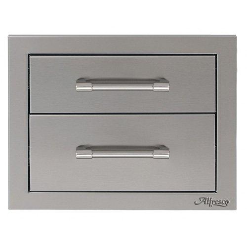 """Alfresco - 17"""" Double Access Drawer - AXE-2DR"""