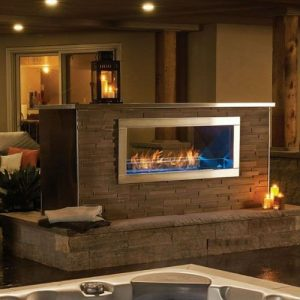 Napoleon Galaxy See Thru Gas Fireplace - GSS48ST