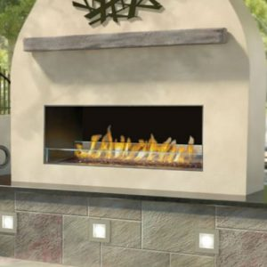 Napoleon Galaxy Outdoor Linear Gas Fireplace - GSS48