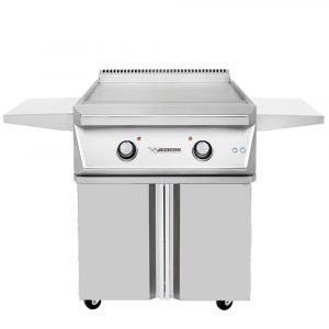"Twin Eagles 30"" Teppanyaki Griddle On a Cart - TETG30-C"