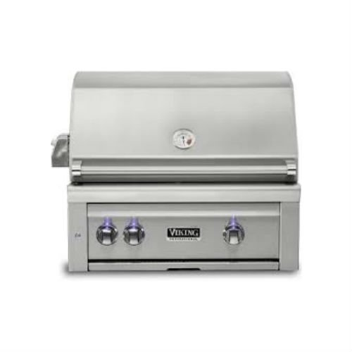 Viking Professional 5 Series 30 Built In Gas Grill W Prosear Burner And Rotisserie Vqgi5300 The Outdoor Appliance Store